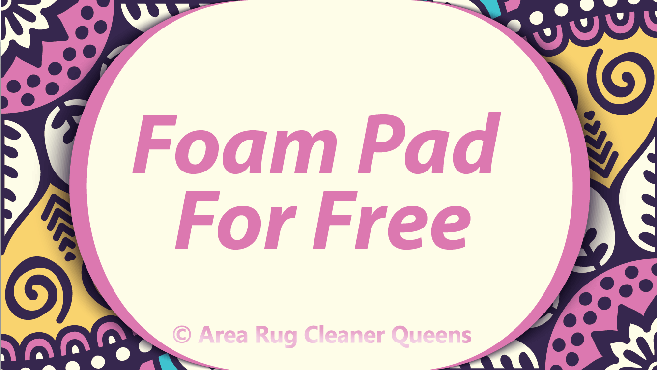 Offer For Free Foam Pad